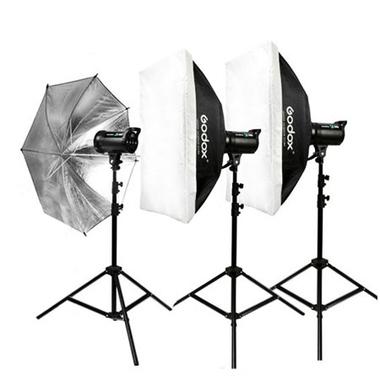 Godox De300 X3 900w Studio Flash Strobe Light 60x90cm Softbox Kit W